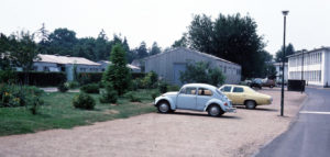 Photo of FHS dorms and Quonset huts