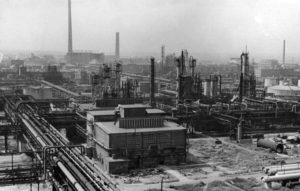 Photo of Hochst AG chemical plant