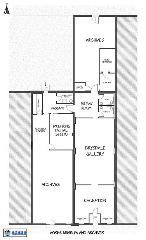 Renovated floorplan showing combined 704 and 708 buildings